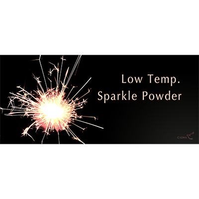 Low temperature sparkle  powder (10 grams.)