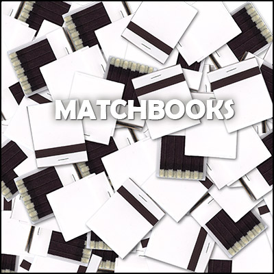 White matchbooks (Box of 50)