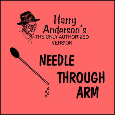 Needle Thru Arm (TUBE) by Harry Anderson - Trick