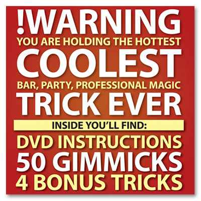 Warning (RED CASE)-DVD and 50 Gimmicks) by Kostya Kimlat - Trick