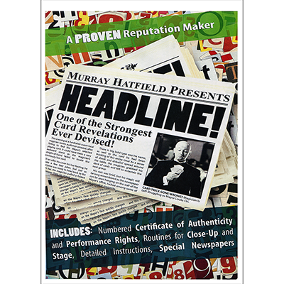 HEADLINE! (DVD and Gimmicks) by Murray Hatfield
