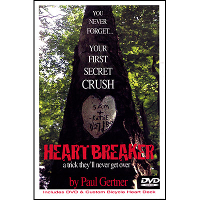 Heartbreaker by Paul Gertner (Deck and DVD) - Trick