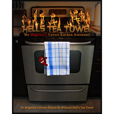 Hell's Tea Towel (Gimmick and DVD)by Aaron Paterson - DVD