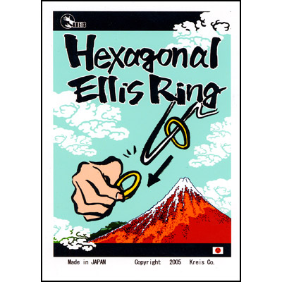 Hexagonal Ellis Ring by Kreis Magic - Trick