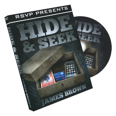 Hide & Seek by James Brown and RSVP Magic - DVD