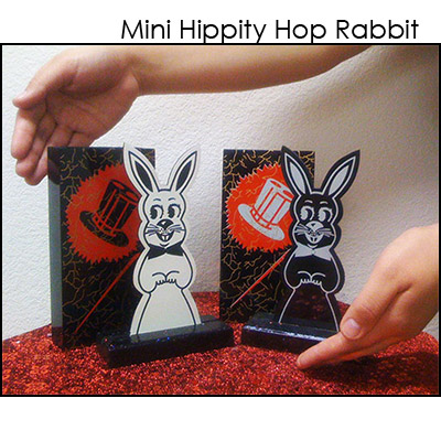 "Hippity Hop Rabbits - 7"" (WOOD) - Trick"