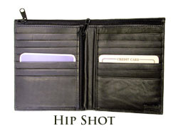Hip Shot Wallet (4256 blk)