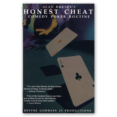 Honest Cheat Poker Routine by Alan Bursky - Trick