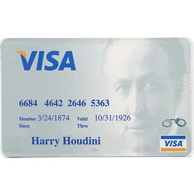 Houdini Credit Card Style Lock Pick Took Kit - Trick