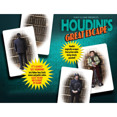 Houdinis Great Escape - Tony Clark