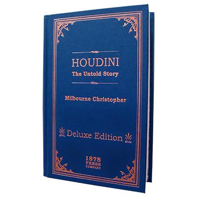 Houdini - The Untold Story (Delux Edition) - Milbourne Christopher - Libro de Magia