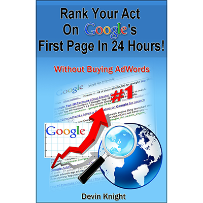 How To Rank Your Act on Google - Devin Knight - Libro de Magia