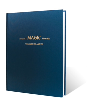 Hugard's Magic Monthly Volume 20-21 (XX/ XXI) by Magico - Book