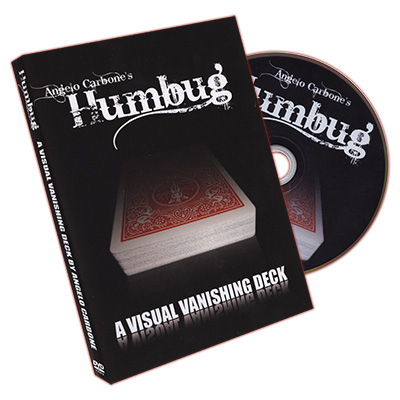 Humbug (Red Card with DVD) by Angleo Carbone