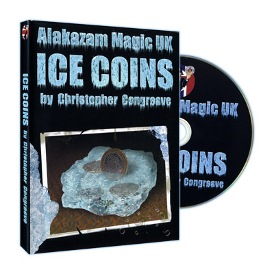 Ice Coins (USA Half Dollar) by Christopher Congreave