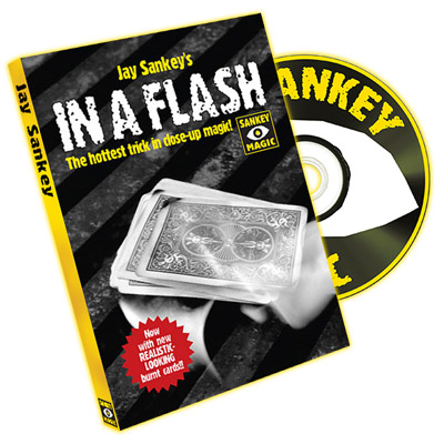 In A Flash (With DVD) by Jay Sankey - Trick