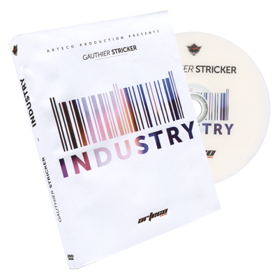 Industry (DVD and Gimmick) by Gauthier Stricker PAL version - DVD