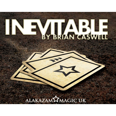 Inevitable RED (DVD and Gimmicks) by Brian Caswell & Alakazam Magic - Tricks