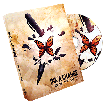 Ink'A'Change (DVD and Gimmick) by Victor Sanz and Balcony Productions