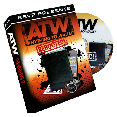 Instant ATW (Anything to Wallet) Wallet (Wallet and DVD) by RSVP