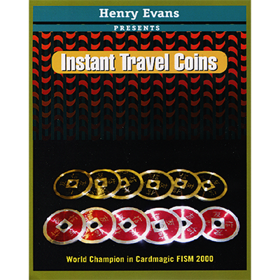 Instant Travel Coins (DVD and Gimmicks)
