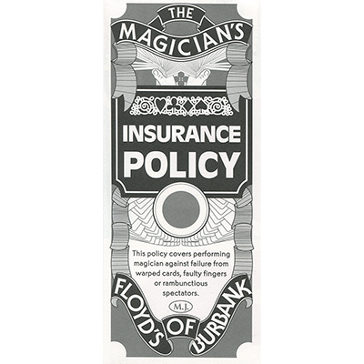 Insurance Policy - Trick