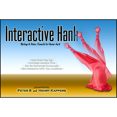 Interactive Hank by Peter 8 and Henry Kappers - Trick