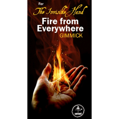 Invisible Hand Fire From Everywhere (Left Hand) by Vernet Magic - Trick