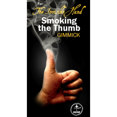 Invisible Hand Smoking Your Thumb by Vernet Magic - Trick