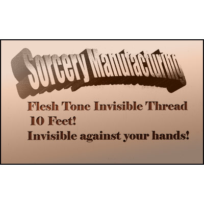 Flesh Tone Invisible Thread by Sorcery Manufacturing