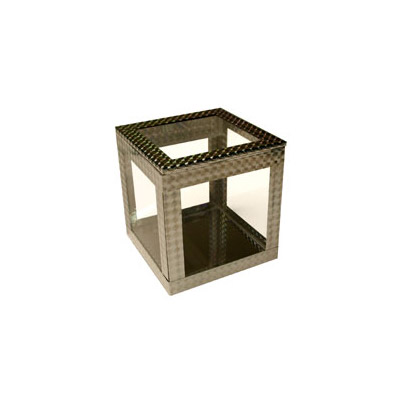 "4"" Crystal Clear Cube by Ickle Pickle - Trick"
