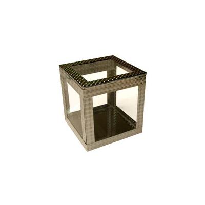 4 inch Crystal Clear Cube
