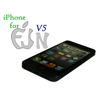 iPhone for FUN V5(Black iPhone) by Cesar Alonso (Cesaral Magic) - Trick