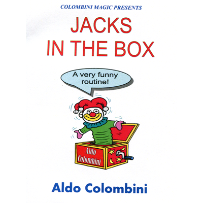 Jacks in the Box by Wild-Colombini Magic - Trick