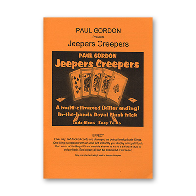 Jeepers Creepers by Paul Gordon - Trick