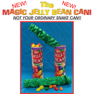 Jelly Bean Snake Can by Imagin-If Magic - Trick