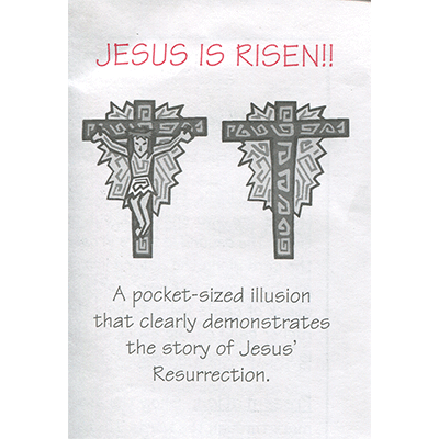 Jesus is Risen by Top Hat Magic - Trick