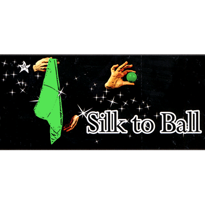 Silk to Ball green(Automatic)by JL Magic - Trick