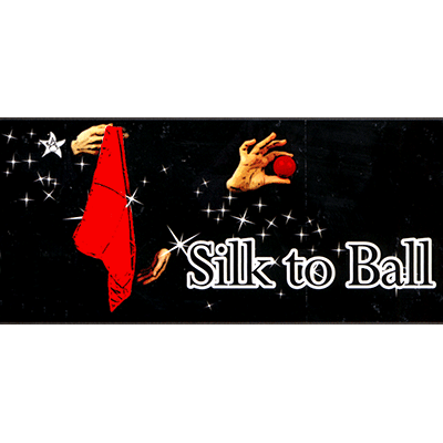 Silk to Ball Red (Automatic) by JL Magic - Trick