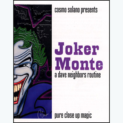 Joker Monte by Cosmo Solano - Trick