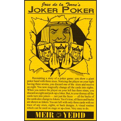 Joker Poker trick