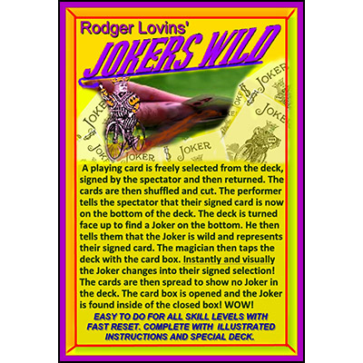 Jokers Wild by Rodger Lovins - Trick