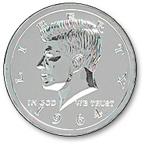 Jumbo 5 Chrome Half Dollar
