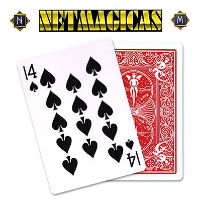 Jumbo (RED) 14 of Spades by Netmagicas - Trick
