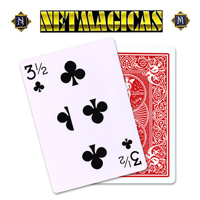 Jumbo (RED) 3-1/2 of Clubs by Netmagicas - Trick