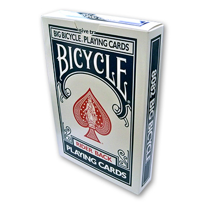 Jumbo Rising Card (Blue Bicycle)