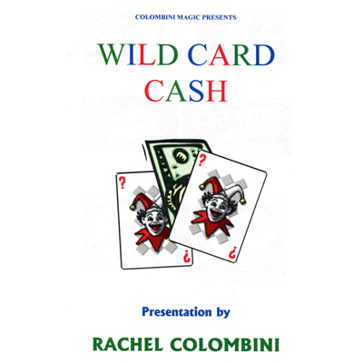 Jumbo Wild Card Cash by Wild-Colombini Magic - Trick