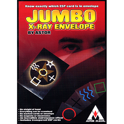 Jumbo X-Ray Envelope by Astor Magic - Trick
