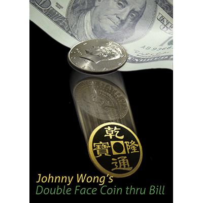 Double Face Coin Thru Bill