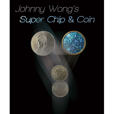 Johnny Wong's Super Chip & Coin ( with DVD ) by Johnny Wong - Trick